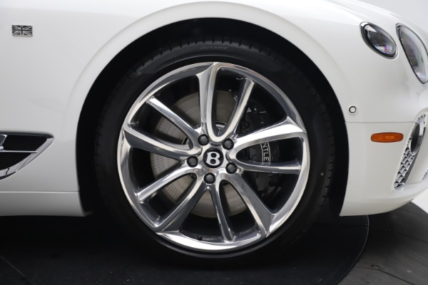 New 2020 Bentley Continental GTC V8 for sale $279,560 at Maserati of Greenwich in Greenwich CT 06830 24