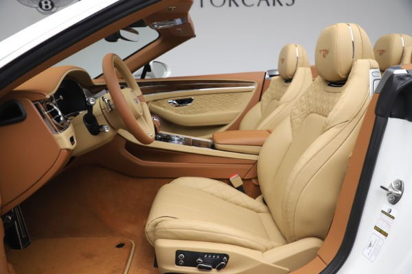 New 2020 Bentley Continental GTC V8 for sale $279,560 at Maserati of Greenwich in Greenwich CT 06830 28