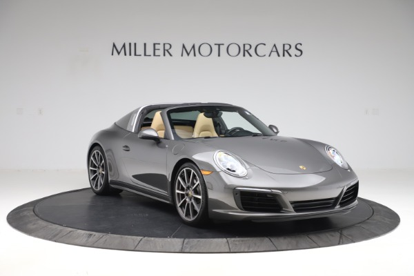 Used 2017 Porsche 911 Targa 4S for sale $123,900 at Maserati of Greenwich in Greenwich CT 06830 11