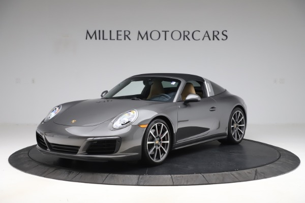Used 2017 Porsche 911 Targa 4S for sale $123,900 at Maserati of Greenwich in Greenwich CT 06830 12