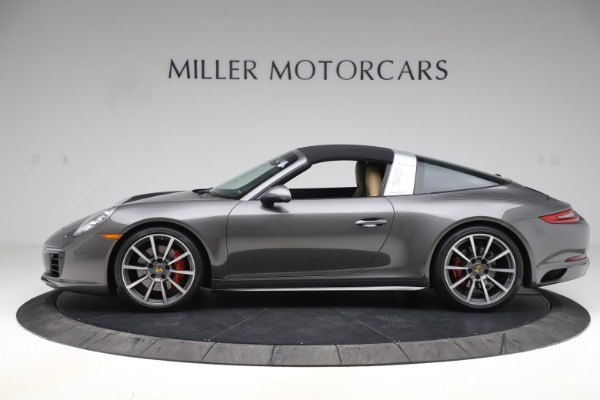 Used 2017 Porsche 911 Targa 4S for sale $123,900 at Maserati of Greenwich in Greenwich CT 06830 13