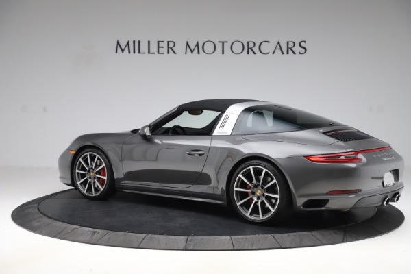 Used 2017 Porsche 911 Targa 4S for sale $123,900 at Maserati of Greenwich in Greenwich CT 06830 14