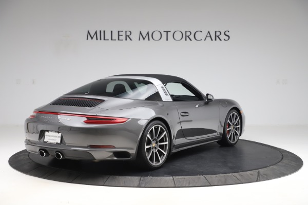 Used 2017 Porsche 911 Targa 4S for sale $123,900 at Maserati of Greenwich in Greenwich CT 06830 15