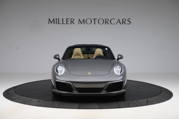 Used 2017 Porsche 911 Targa 4S for sale $123,900 at Maserati of Greenwich in Greenwich CT 06830 18
