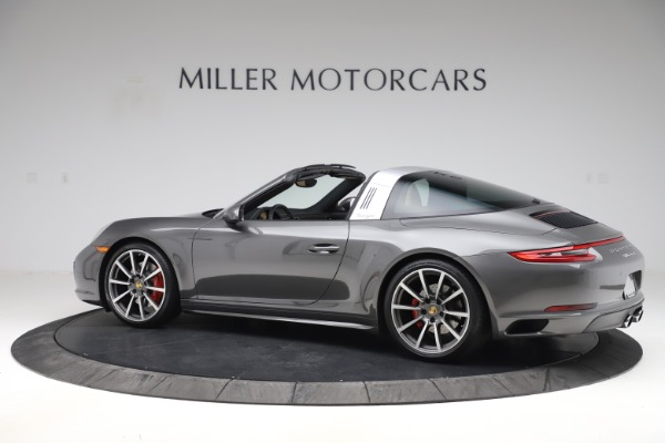 Used 2017 Porsche 911 Targa 4S for sale $123,900 at Maserati of Greenwich in Greenwich CT 06830 4