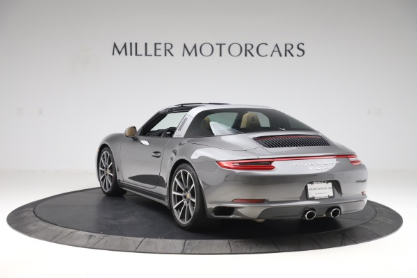 Used 2017 Porsche 911 Targa 4S for sale $123,900 at Maserati of Greenwich in Greenwich CT 06830 5
