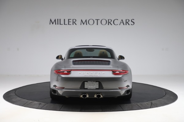 Used 2017 Porsche 911 Targa 4S for sale $123,900 at Maserati of Greenwich in Greenwich CT 06830 6