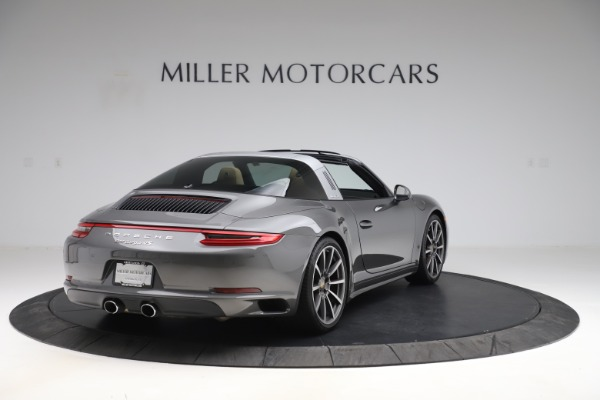 Used 2017 Porsche 911 Targa 4S for sale $123,900 at Maserati of Greenwich in Greenwich CT 06830 7