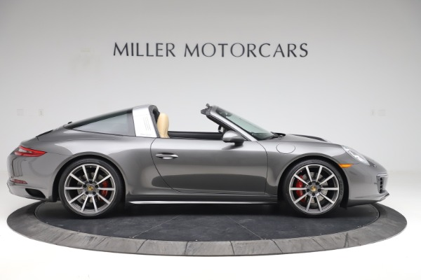 Used 2017 Porsche 911 Targa 4S for sale $123,900 at Maserati of Greenwich in Greenwich CT 06830 9