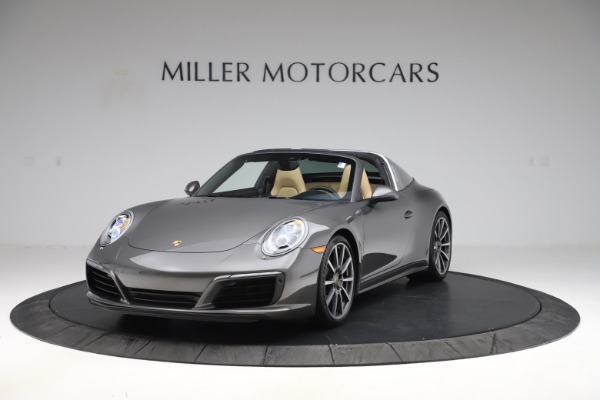 Used 2017 Porsche 911 Targa 4S for sale $123,900 at Maserati of Greenwich in Greenwich CT 06830 1