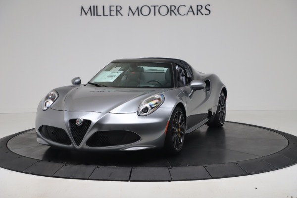 New 2020 Alfa Romeo 4C Spider for sale $78,795 at Maserati of Greenwich in Greenwich CT 06830 1