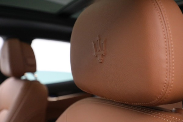 New 2020 Maserati Levante Q4 for sale Sold at Maserati of Greenwich in Greenwich CT 06830 28