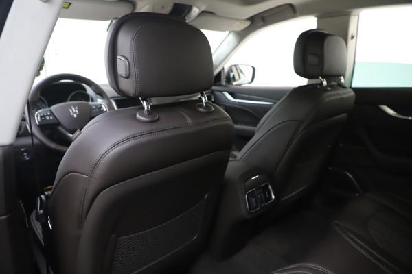 New 2020 Maserati Levante Q4 GranLusso for sale $87,885 at Maserati of Greenwich in Greenwich CT 06830 20