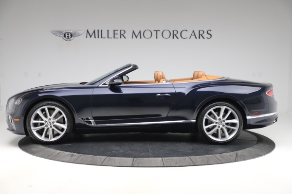 New 2020 Bentley Continental GTC W12 for sale $292,575 at Maserati of Greenwich in Greenwich CT 06830 3