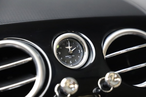 New 2016 Bentley Continental GT W12 for sale $128,900 at Maserati of Greenwich in Greenwich CT 06830 23