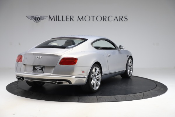 New 2016 Bentley Continental GT W12 for sale $128,900 at Maserati of Greenwich in Greenwich CT 06830 7