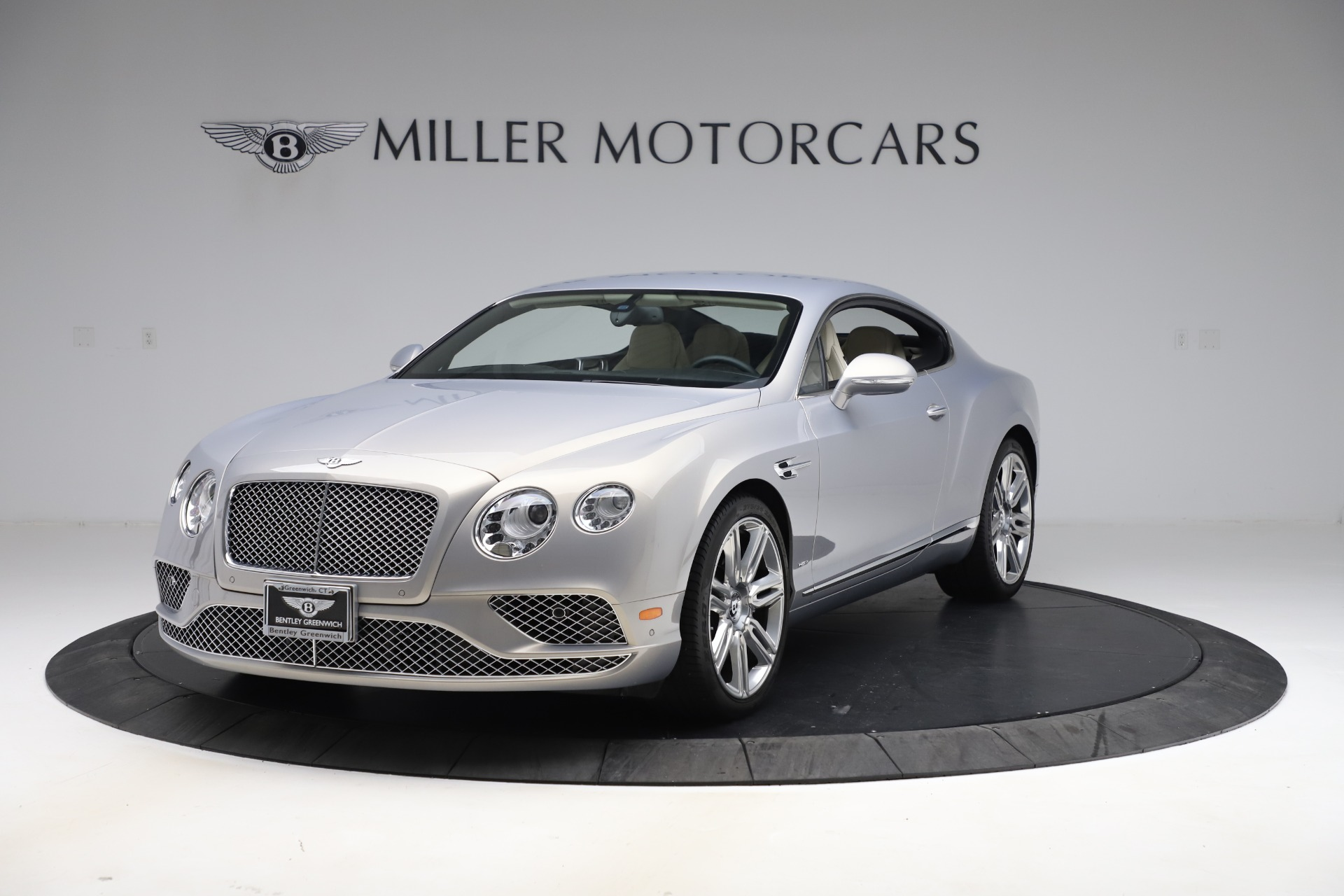 New 2016 Bentley Continental GT W12 for sale $128,900 at Maserati of Greenwich in Greenwich CT 06830 1