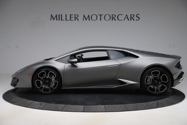 Used 2017 Lamborghini Huracan LP 580-2 for sale Sold at Maserati of Greenwich in Greenwich CT 06830 3