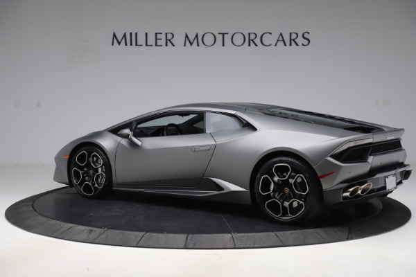 Used 2017 Lamborghini Huracan LP 580-2 for sale Sold at Maserati of Greenwich in Greenwich CT 06830 4