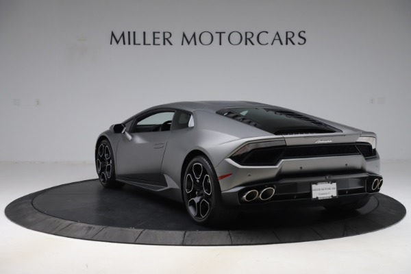 Used 2017 Lamborghini Huracan LP 580-2 for sale Sold at Maserati of Greenwich in Greenwich CT 06830 5