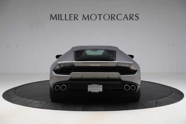 Used 2017 Lamborghini Huracan LP 580-2 for sale Sold at Maserati of Greenwich in Greenwich CT 06830 6
