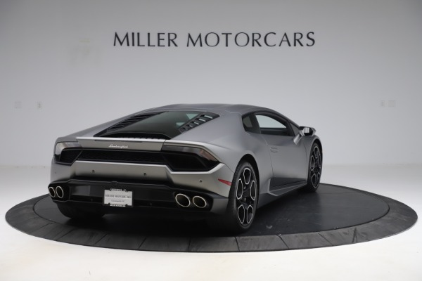 Used 2017 Lamborghini Huracan LP 580-2 for sale Sold at Maserati of Greenwich in Greenwich CT 06830 7