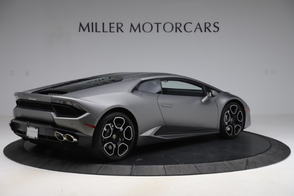 Used 2017 Lamborghini Huracan LP 580-2 for sale Sold at Maserati of Greenwich in Greenwich CT 06830 8