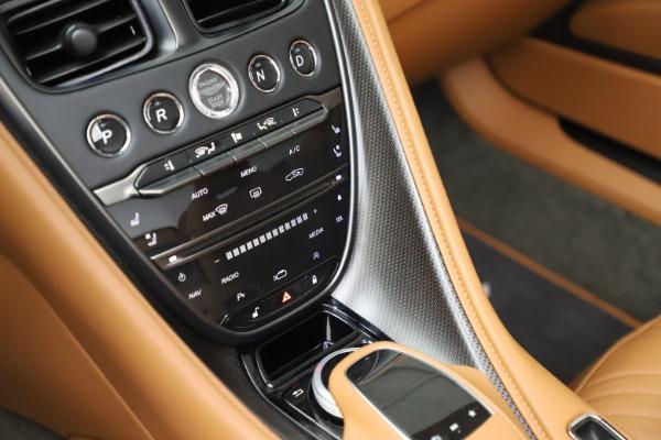 Used 2020 Aston Martin DB11 Volante Convertible for sale $239,900 at Maserati of Greenwich in Greenwich CT 06830 18