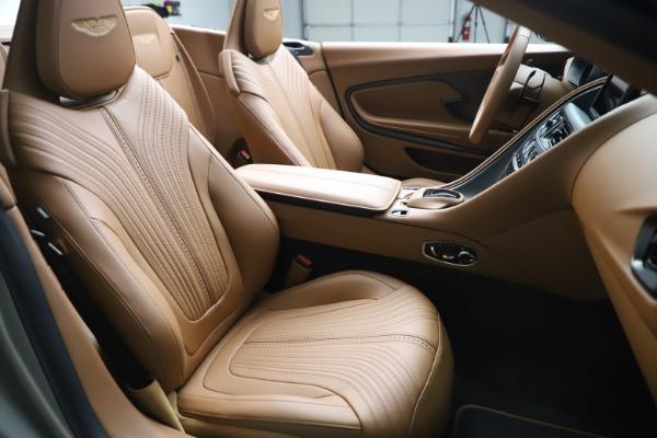 Used 2020 Aston Martin DB11 Volante Convertible for sale $239,900 at Maserati of Greenwich in Greenwich CT 06830 21
