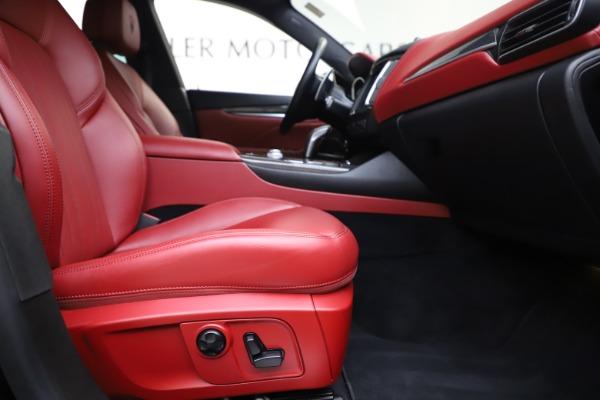 Used 2019 Maserati Levante S Q4 GranLusso for sale $73,900 at Maserati of Greenwich in Greenwich CT 06830 23