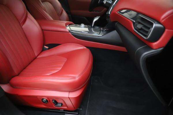 Used 2019 Maserati Levante S Q4 GranLusso for sale $73,900 at Maserati of Greenwich in Greenwich CT 06830 24