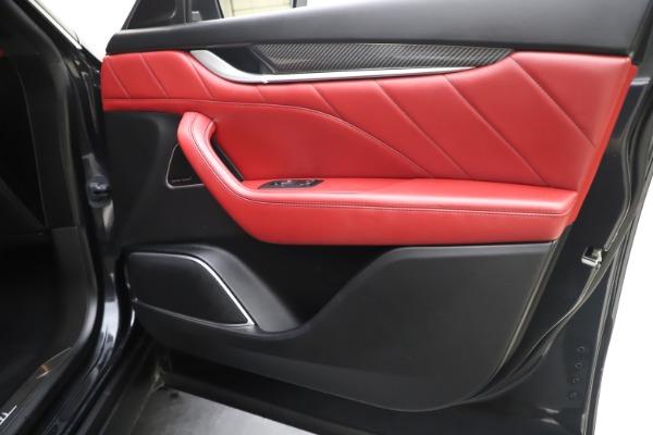 Used 2019 Maserati Levante S Q4 GranLusso for sale $73,900 at Maserati of Greenwich in Greenwich CT 06830 25