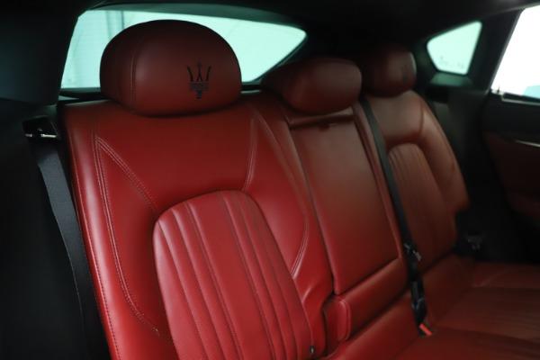 Used 2019 Maserati Levante S Q4 GranLusso for sale $73,900 at Maserati of Greenwich in Greenwich CT 06830 26