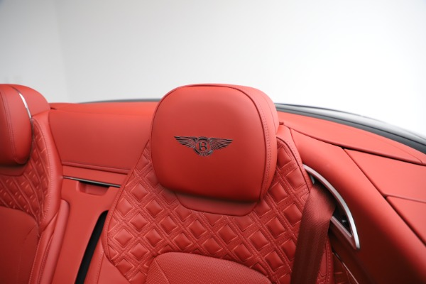 New 2020 Bentley Continental GTC V8 for sale $277,110 at Maserati of Greenwich in Greenwich CT 06830 25
