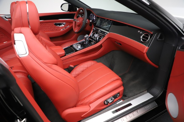 New 2020 Bentley Continental GTC V8 for sale $277,110 at Maserati of Greenwich in Greenwich CT 06830 28