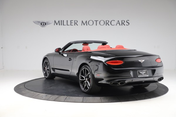 New 2020 Bentley Continental GTC V8 for sale $277,110 at Maserati of Greenwich in Greenwich CT 06830 5