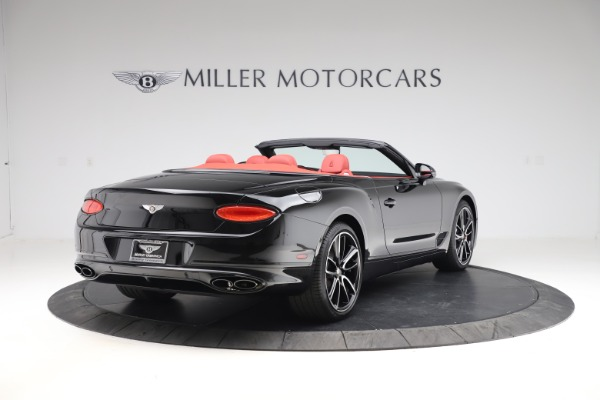 New 2020 Bentley Continental GTC V8 for sale $277,110 at Maserati of Greenwich in Greenwich CT 06830 7