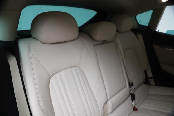 New 2020 Maserati Levante S Q4 GranLusso for sale $97,335 at Maserati of Greenwich in Greenwich CT 06830 26