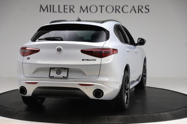 New 2020 Alfa Romeo Stelvio Ti Q4 for sale Sold at Maserati of Greenwich in Greenwich CT 06830 7