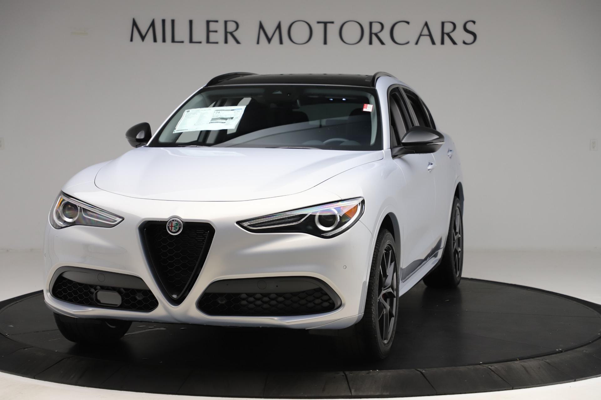 New 2020 Alfa Romeo Stelvio Ti Q4 for sale Sold at Maserati of Greenwich in Greenwich CT 06830 1