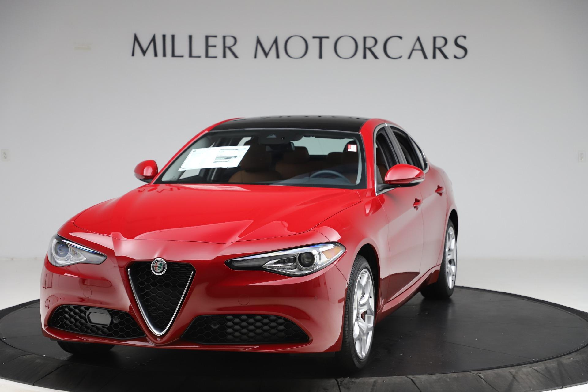 New 2020 Alfa Romeo Giulia Ti Q4 for sale $47,195 at Maserati of Greenwich in Greenwich CT 06830 1