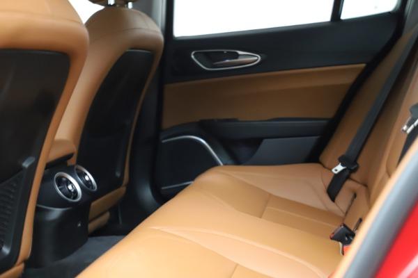 Used 2020 Alfa Romeo Giulia Q4 for sale $34,900 at Maserati of Greenwich in Greenwich CT 06830 17