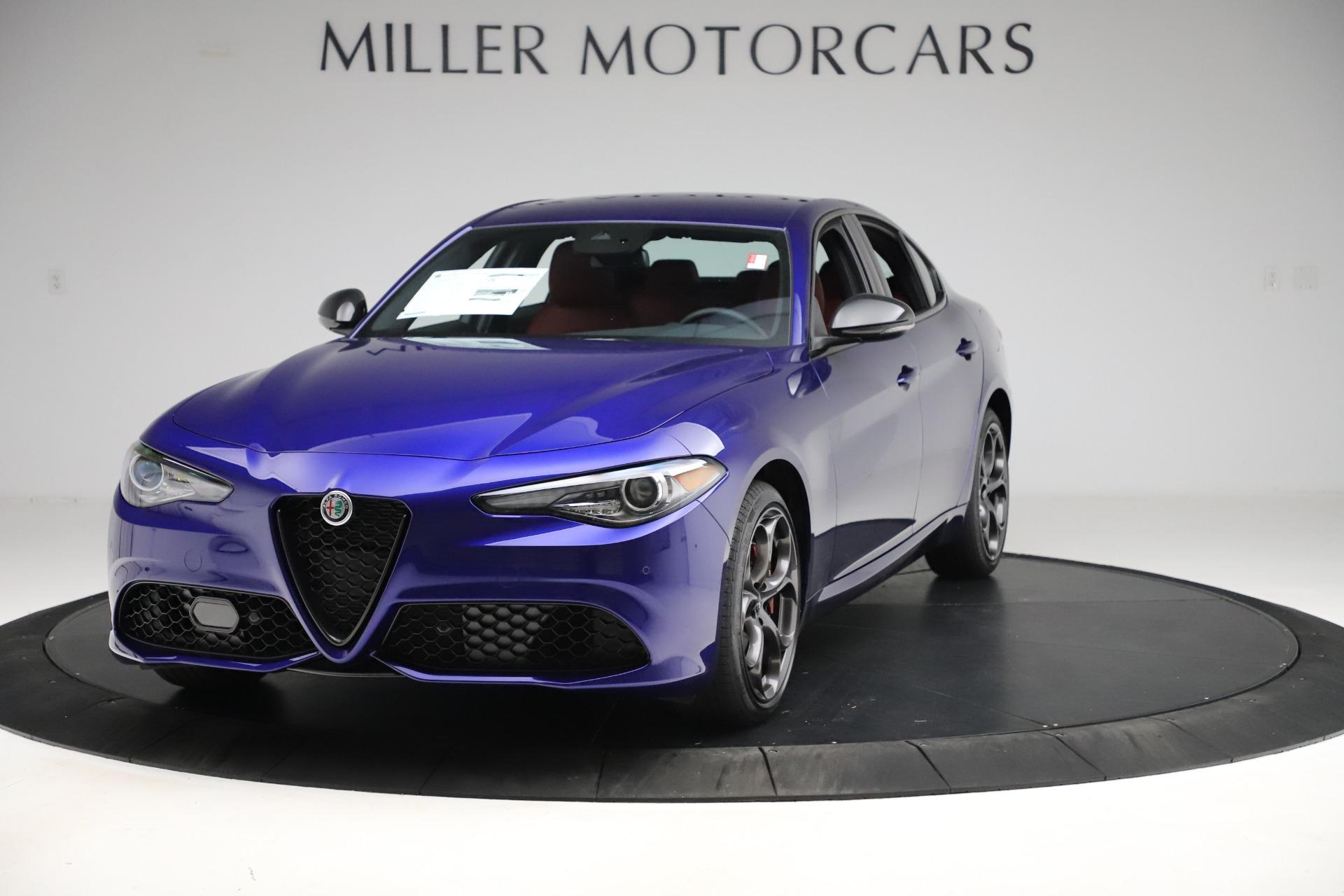 New 2020 Alfa Romeo Giulia Ti Sport Q4 for sale $50,445 at Maserati of Greenwich in Greenwich CT 06830 1