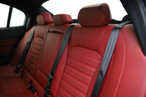 New 2020 Alfa Romeo Giulia Ti Sport Q4 for sale $51,995 at Maserati of Greenwich in Greenwich CT 06830 19
