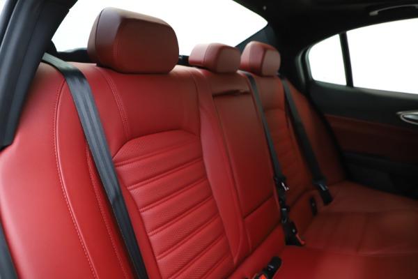 New 2020 Alfa Romeo Giulia Ti Sport Q4 for sale $51,995 at Maserati of Greenwich in Greenwich CT 06830 27