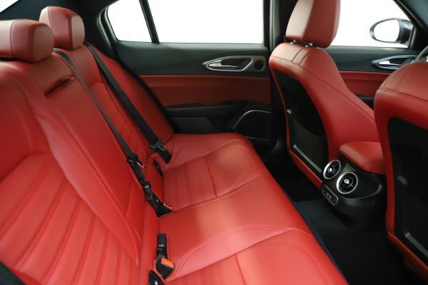 New 2020 Alfa Romeo Giulia Ti Sport Q4 for sale $51,995 at Maserati of Greenwich in Greenwich CT 06830 28