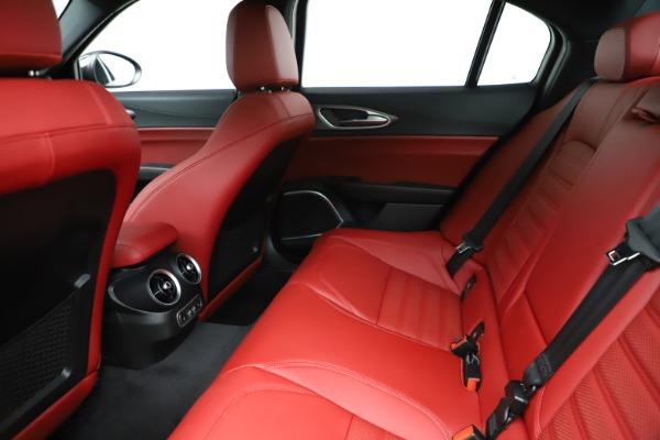 New 2020 Alfa Romeo Giulia Ti Sport Q4 for sale Sold at Maserati of Greenwich in Greenwich CT 06830 19