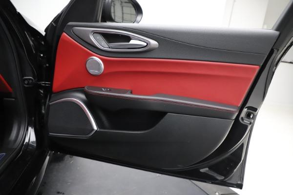 New 2020 Alfa Romeo Giulia Ti Sport Q4 for sale Sold at Maserati of Greenwich in Greenwich CT 06830 25