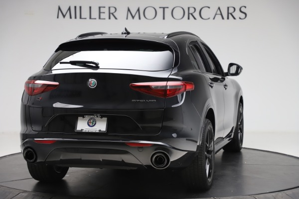 New 2020 Alfa Romeo Stelvio Sport Q4 for sale Sold at Maserati of Greenwich in Greenwich CT 06830 7