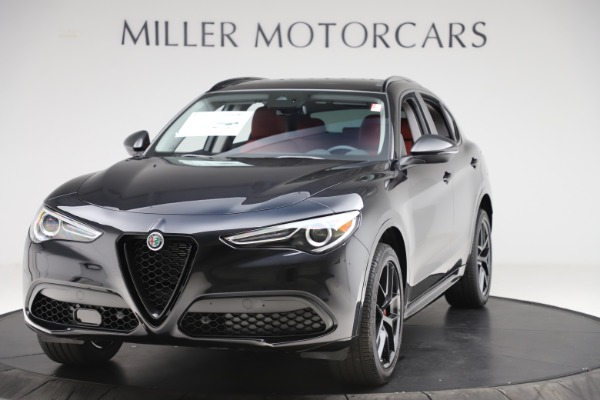New 2020 Alfa Romeo Stelvio Sport Q4 for sale $50,795 at Maserati of Greenwich in Greenwich CT 06830 1